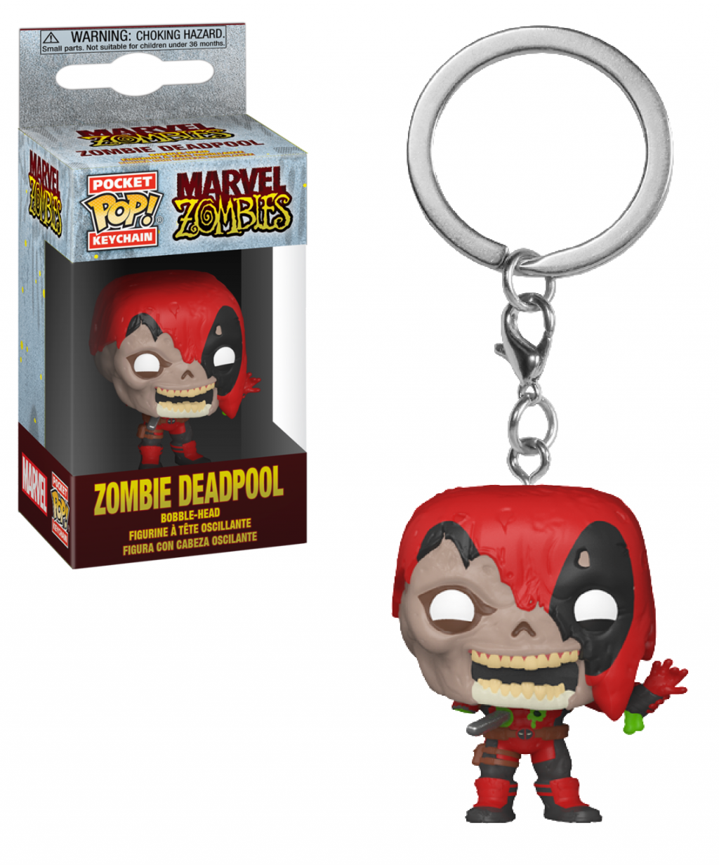 MARVEL ZOMBIES - Pocket Pop Keychains - Deadpool - 4cm_1