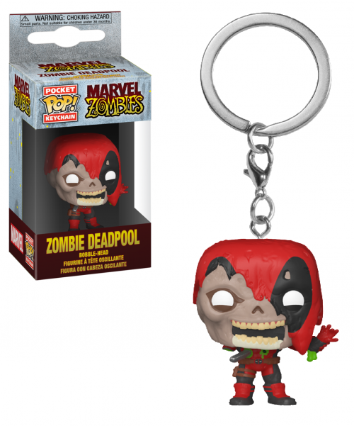 MARVEL ZOMBIES - Pocket Pop Keychains - Deadpool - 4cm