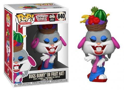 LOONEY TUNES - Bobble Head POP N° 840 - Bugs 80th - Bugs in Fruit Hat
