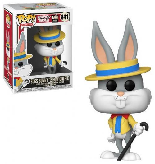 LOONEY TUNES - Bobble Head POP N° 841 - Bugs 80th - Bugs Show Outfit