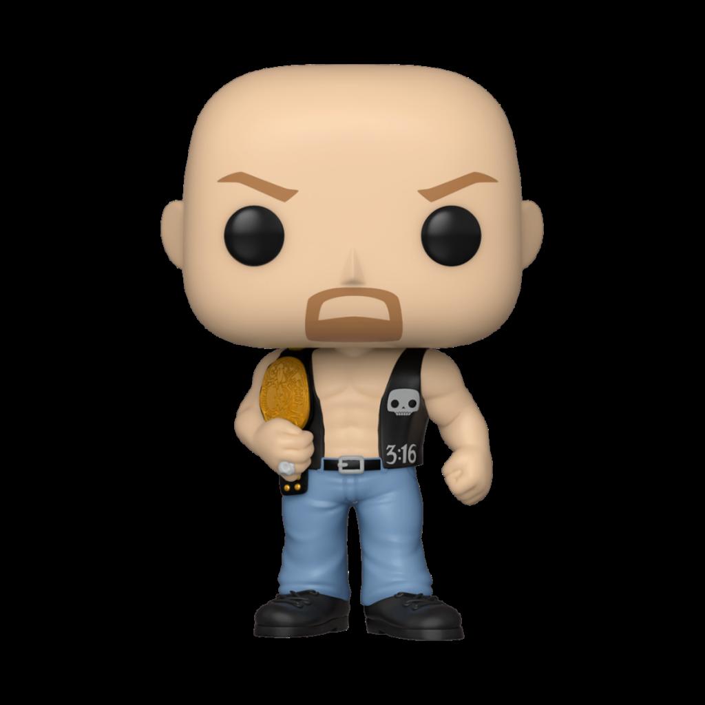 WWE - Bobble Head POP N° xxx - SC Steve Austin w/ Belt_1