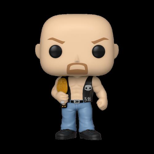 WWE - Bobble Head POP N° xxx - SC Steve Austin w/ Belt