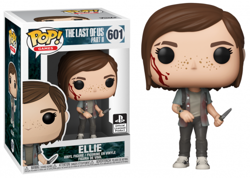 THE LAST OF US II - Bobble Head POP N° 601 - Ellie