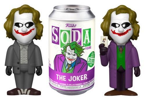 DC COMICS - Vinyl SODA - Heath Ledger Joker w/ Chase