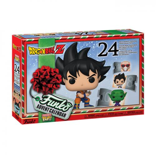DRAGON BALL Z - Pocket Pop - Calendrier de l'avent 2020 - 24 figurines