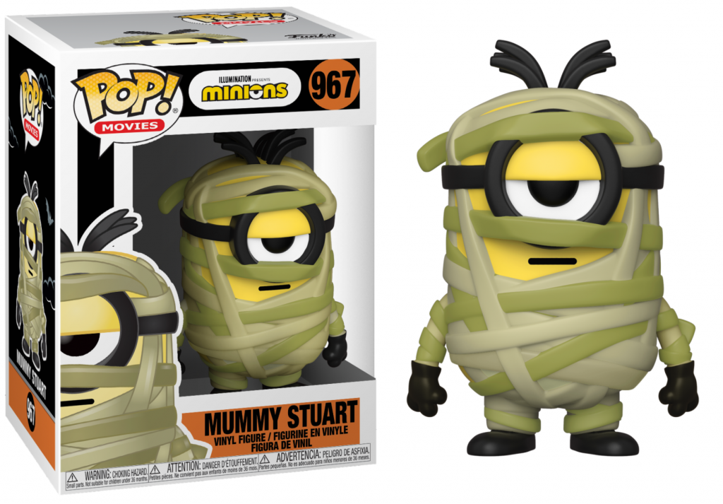 MINIONS - Bobble Head POP N° 967 - Mummy Stuart_1