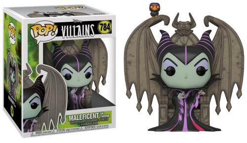 MALEFICENT - Pop Deluxe N° 784 - Maleficent on Throne