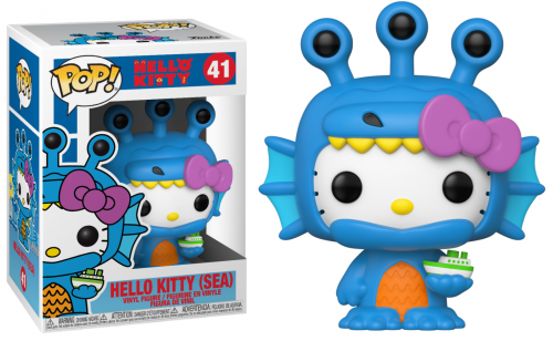 HELLO KITTY - Bobble Head POP N° 41 - Hello Kitty Sea Kaiju