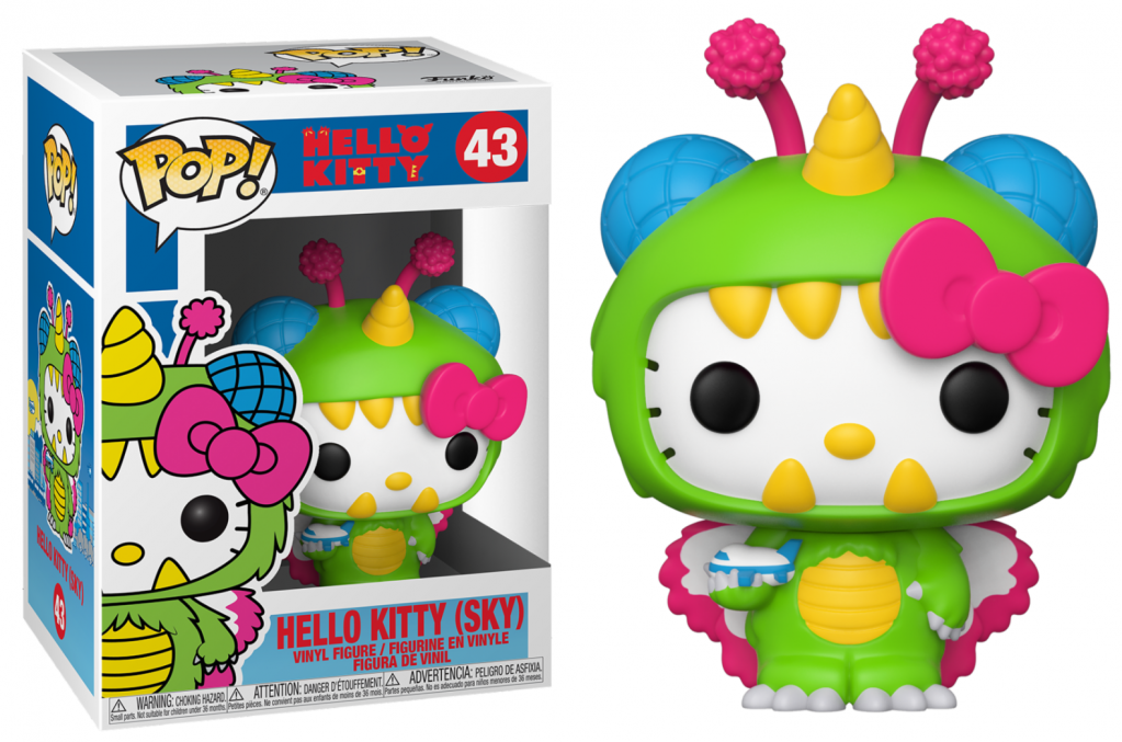 HELLO KITTY - Bobble Head POP N° 43 - Hello Kitty Sky Kaiju_1