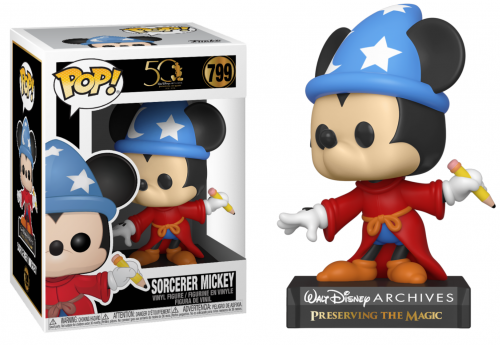 DISNEY - Bobble Head POP N° 799 - Archives - Sorcerer Mickey