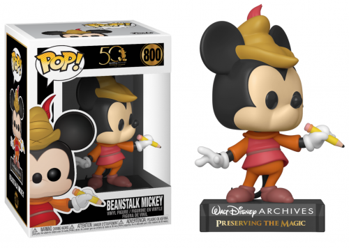 DISNEY - Bobble Head POP N° 800 - Archives - Beanstalk Mickey