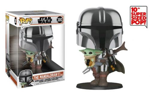 STAR WARS - Bobble Head POP N° xxx - Mandalorian w/ The Child 25cm