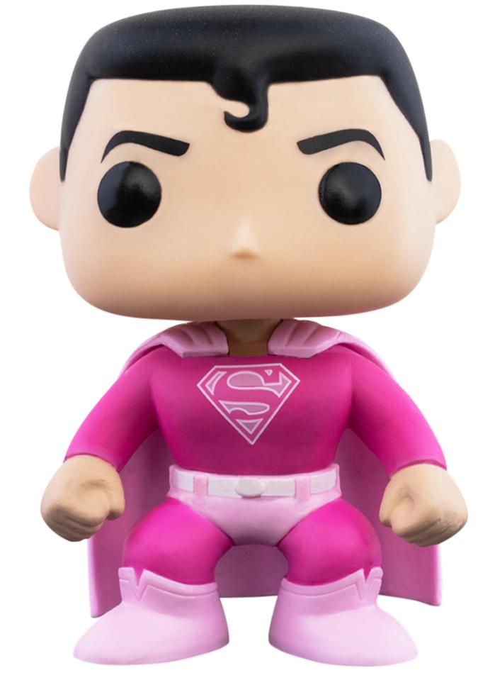 DC COMICS - Bobble Head POP N° 349 - Superman Breast Cancer_2