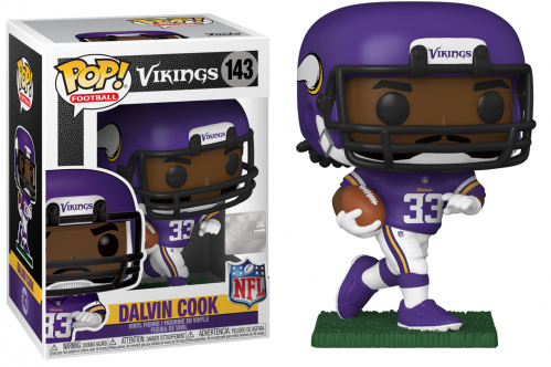NFL - Minnestoa Vikings - Bobble Head POP N° 143 - Dalvin Cook