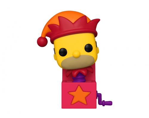 SIMPSONS - Bobble Head POP N° xxx - Homer Jack-in-the-box