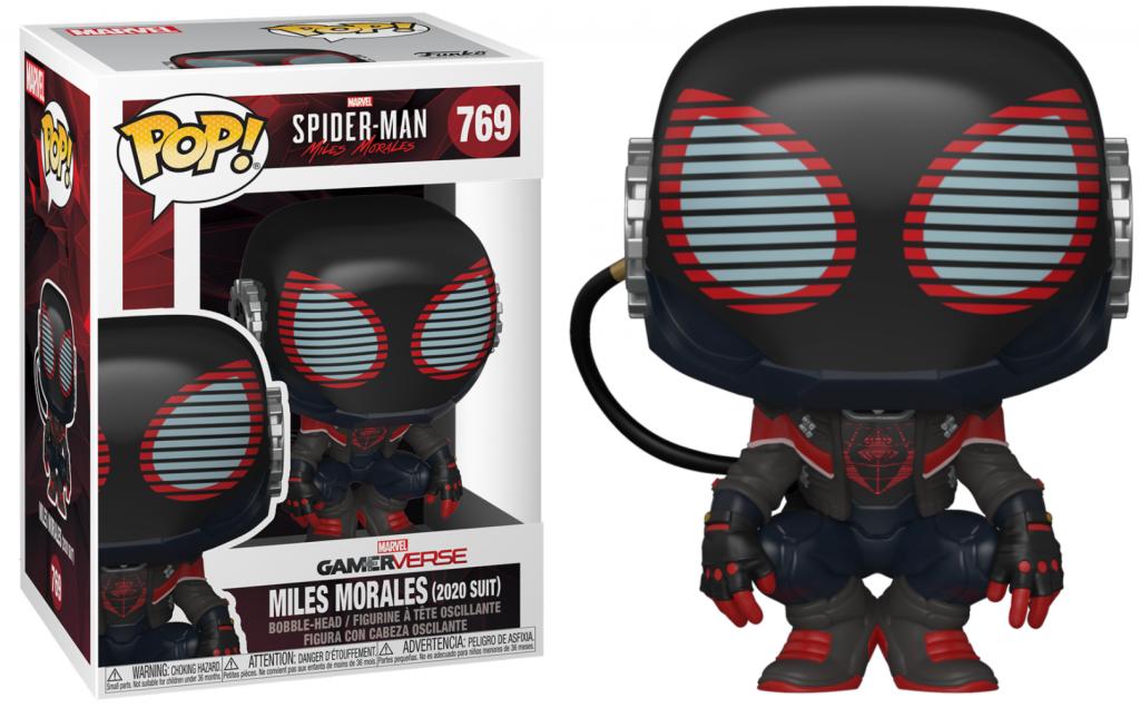 SPIDER-MAN - Bobble Head POP N° 769  - 2020 Suit_1