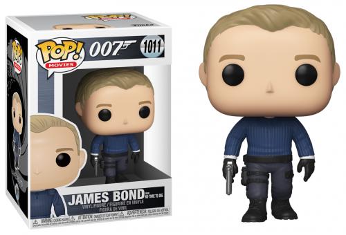 JAMES BOND - Bobble Head POP N° 1011 - James Bond (No Time to Die)
