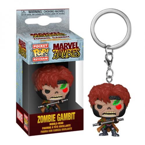 MARVEL ZOMBIES - Pocket Pop Keychains - Gambit - 4cm