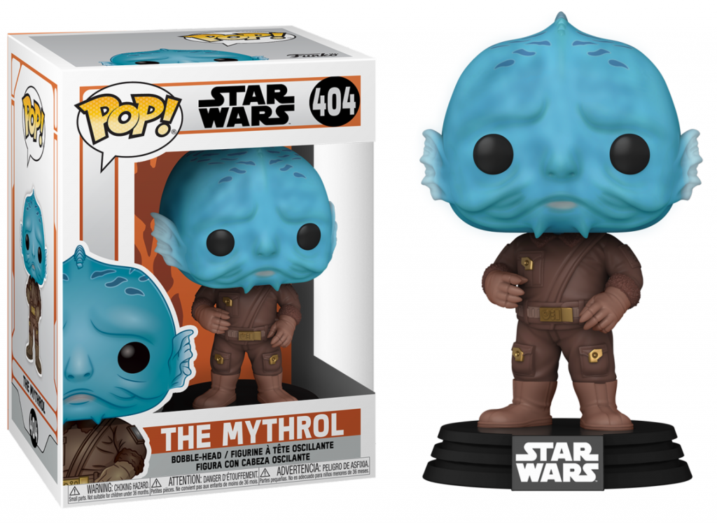 THE MANDALORIAN - Bobble Head POP N° 404 - The Mythrol_1
