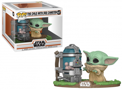 THE MANDALORIAN - Pop Deluxe N° 407 - Child w/ Canister