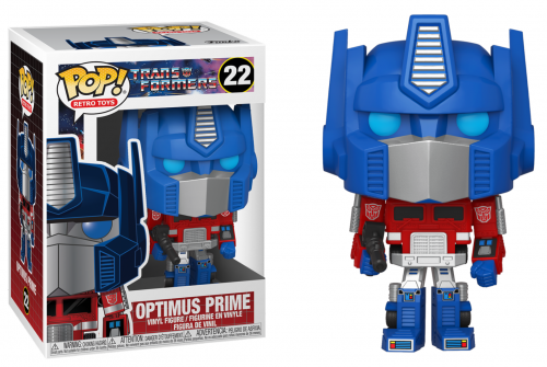 TRANSFORMERS - Bobble Head POP N° 22 - Optimus Prime