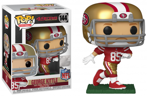 NFL - 49ers - Bobble Head POP N° 144 - Georges Kittle