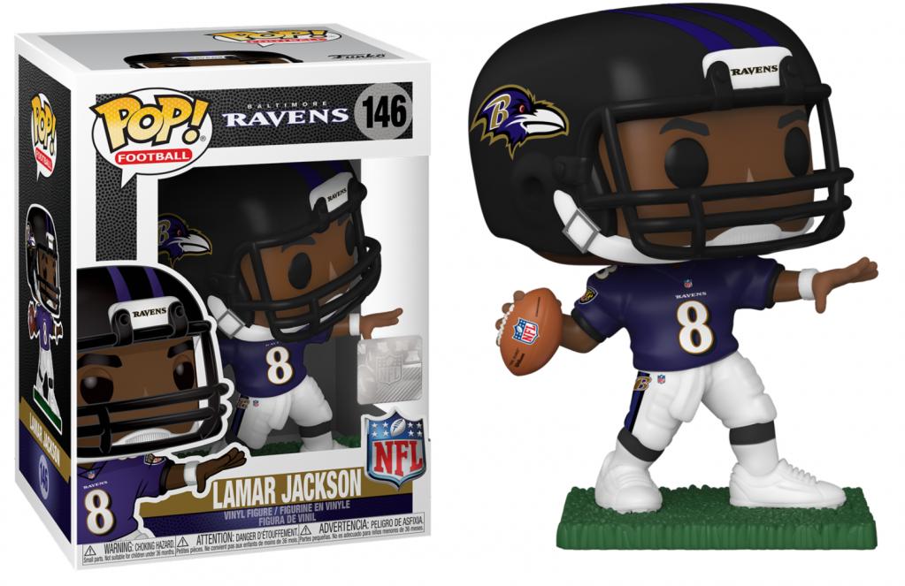 NFL - Baltimore Ravens - Bobble Head POP N° 146 - Lamar Jackson_1