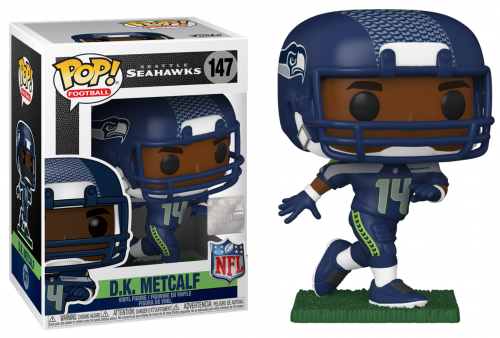 NFL - Seattle Seahawks - Bobble Head POP N° 147 - D.K. Metcalf