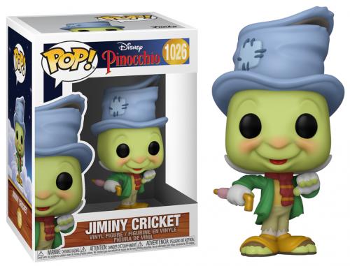 PINOCCHIO - Bobble Head POP N° 1026 - Street Jiminy