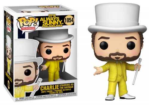 PHILADELPHIA - Bobble Head POP N° 1054 - Charlie as the Dayman