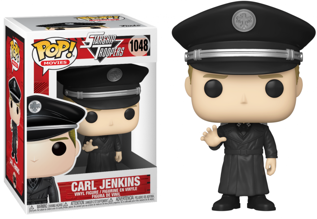 STARSHIP TROOPERS - Bobble Head POP N° 1048 - Carl Jenkins_1