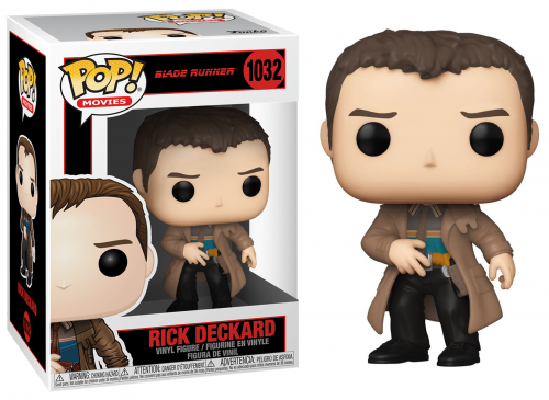 BLADE RUNNER 1982 - Bobble Head POP N° 1032 - Rick Deckard