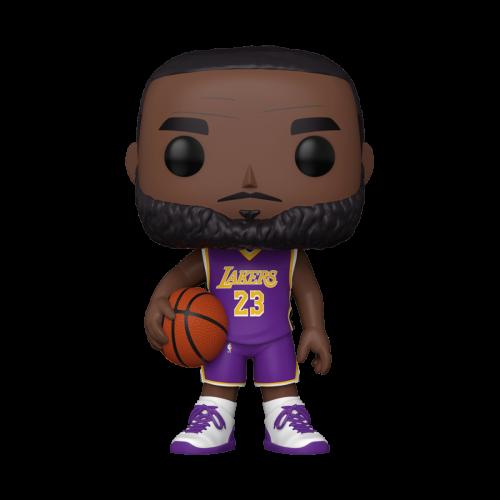 NBA - L.A. Lakers - Bobble Head POP N° xxx - LeBron James 10