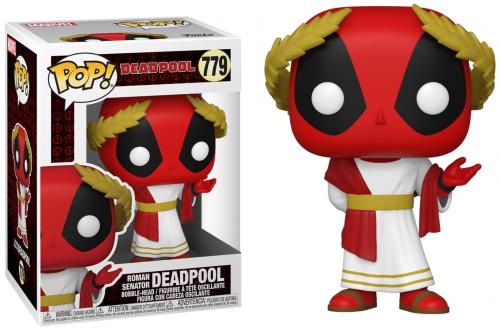 DEADPOOL 30TH - Bobble Head POP N° 779 - Roman Senator Deadpool