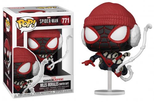 SPIDER-MAN - Bobble Head POP N° 771 - Winter Suit