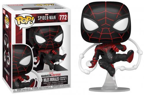 SPIDER-MAN - Bobble Head POP N° 772 - Advanced Tech Suit