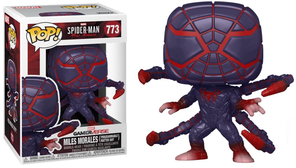 SPIDER-MAN - Bobble Head POP N° 773 - Programmable Matter Suit_1