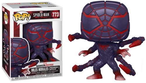 SPIDER-MAN - Bobble Head POP N° 773 - Programmable Matter Suit
