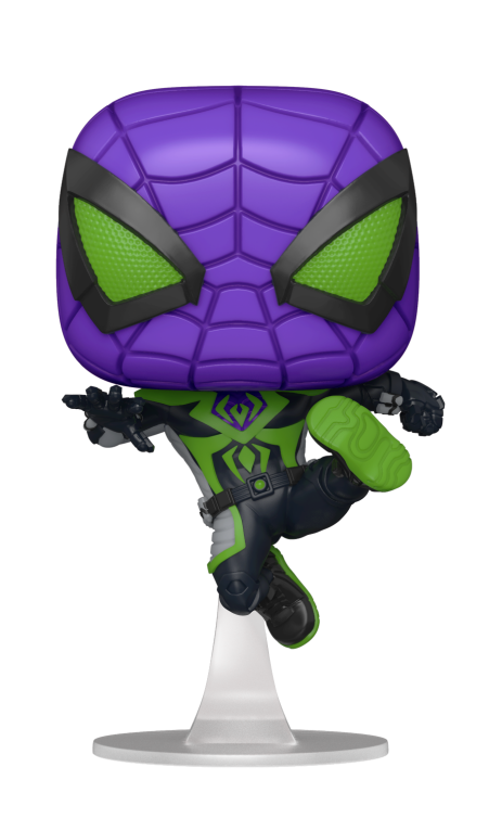 SPIDER-MAN - Bobble Head POP N° xxx - Purple Reign Suit (Metallic)