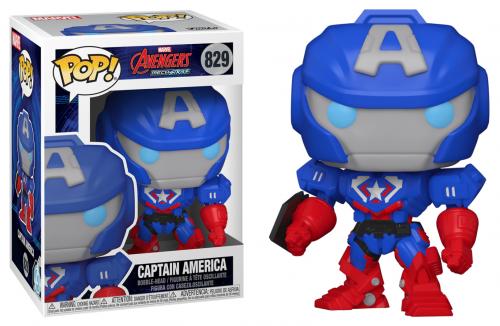 MARVEL - Bobble Head POP N° 829 - Captain America
