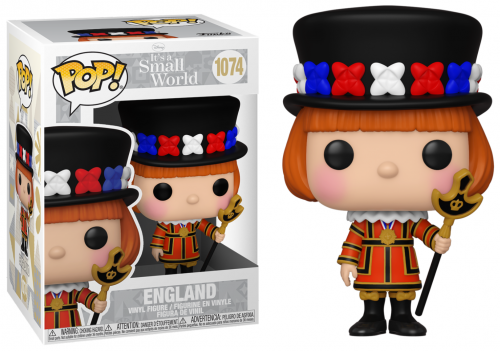DISNEY - Bobble Head POP N° 1074 - It's a Small World - England
