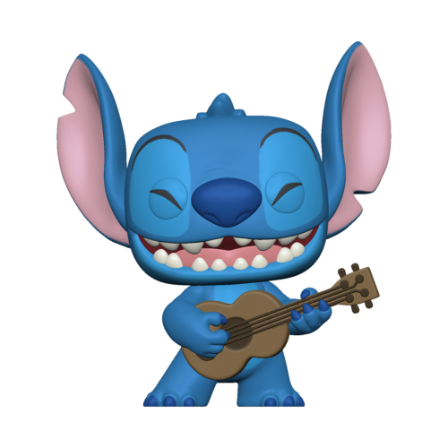 LILO & STITCH - Bobble Head POP N° 1044 - Stitch w/Ukelele