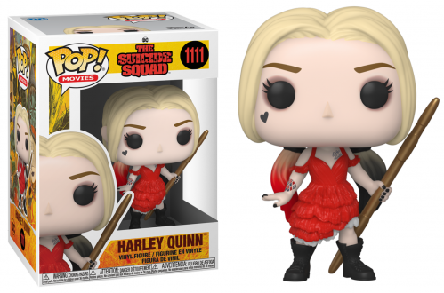 SUICIDE SQUAD - Bobble Head POP N° 1111 - Harley Quinn (Damaged Dress)