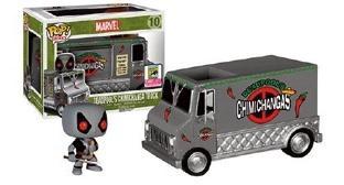MARVEL - Bobble Head POP RIDES N° 10 - Deadpool's Chimichanga Truck LT