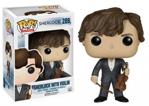 SHERLOCK - Bobble Head POP N° 289 - Sherlock avec son Violon