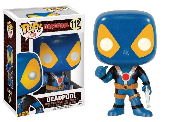 MARVEL - Bobble Head POP N° 112 - Deadpool X-Men Costume (LIMITED)