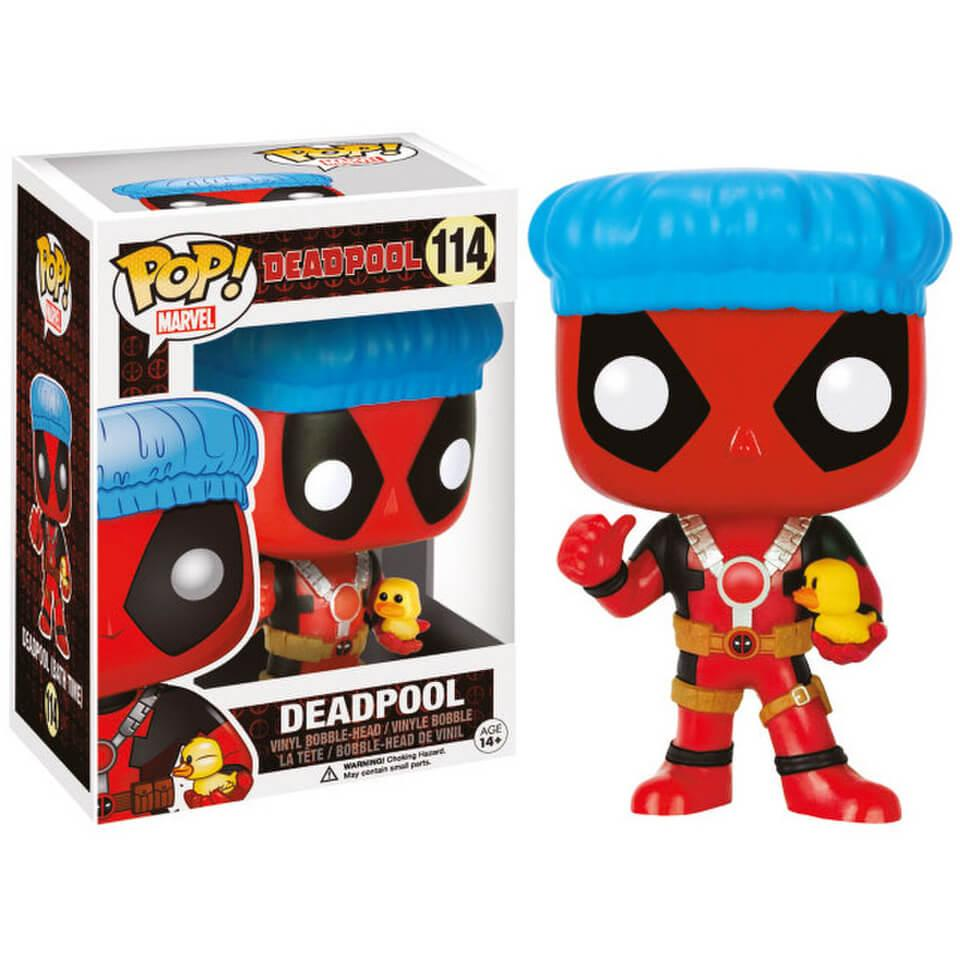 MARVEL - Bobble Head Pop N° 114 - Shower Cap and Ducky LIMITED