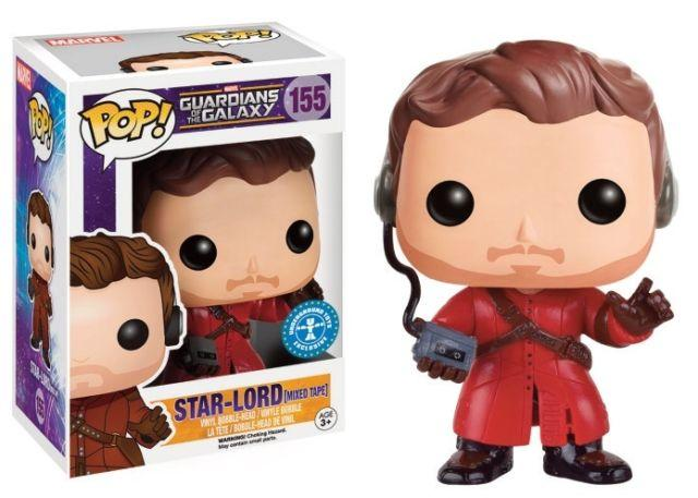 GUARDIANS OF THE GALAXY 2 - Bobble Head POP N° 209 - Star-Lord Tape