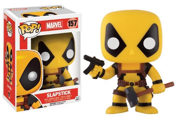 MARVEL - Bobble Head Pop N° 157 - Deadpool Rainbow Squad Slapstick