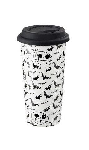 NBX - Sketchy Bats & Jack - Mug de voyage 400ml